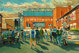 highfield road  going to the match print